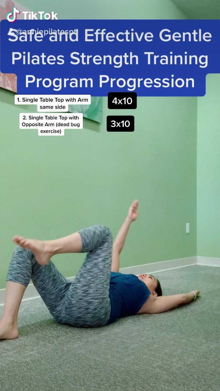 Effective Beginner's Pilates for Weak Pelvic Floor