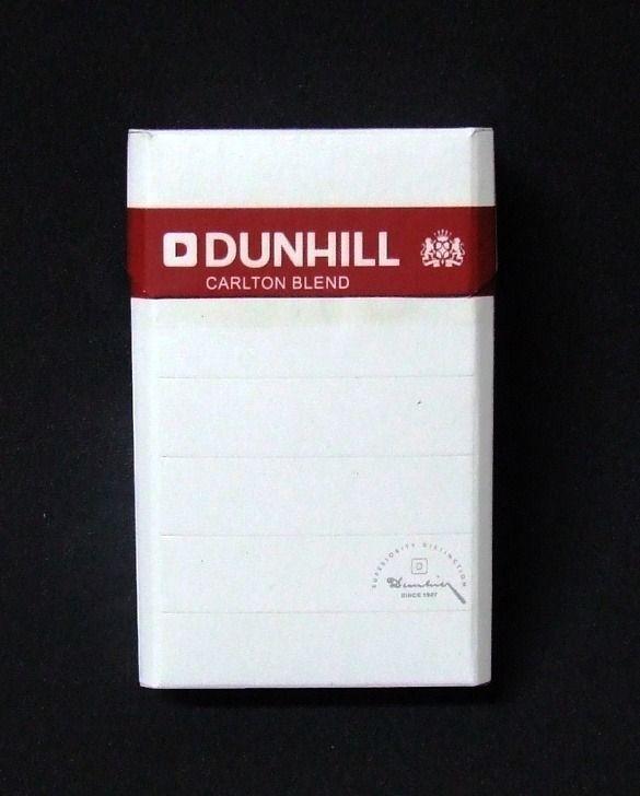 Muitas vezes Embalagem de Dunhil Carlton Blend | CIGARROS - MARCAS | Pinterest  FU63