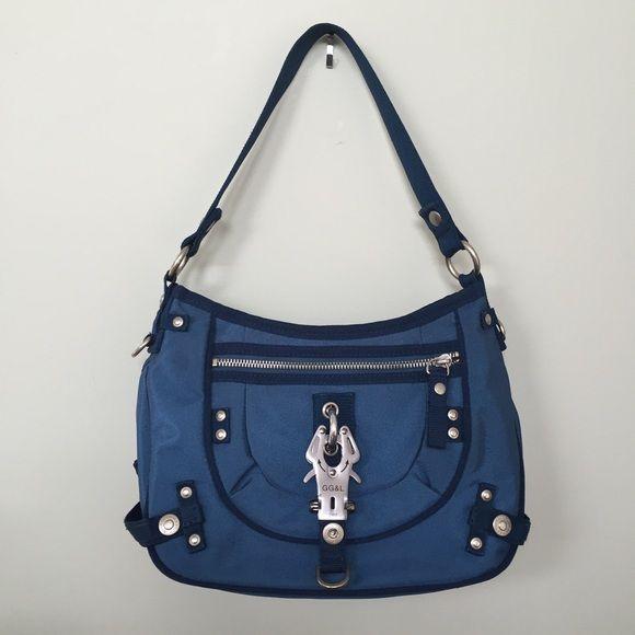 George Gina Lucy Blue Handbag Crossbody Blue Handbags Cross Body Handbags Handbag