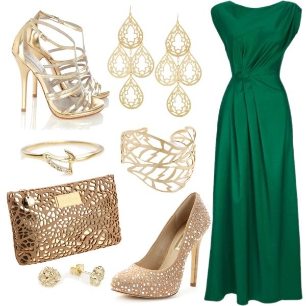 a460796282f emerald green and gold