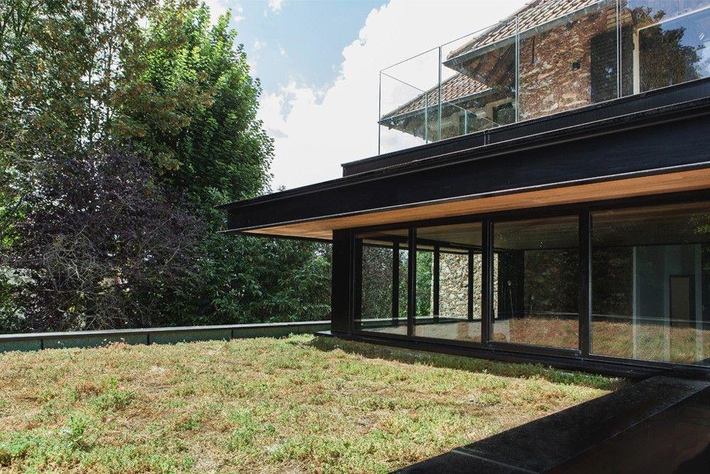 Réhabilitation et extension du0027une maison dans les Hauts-de-Seine par