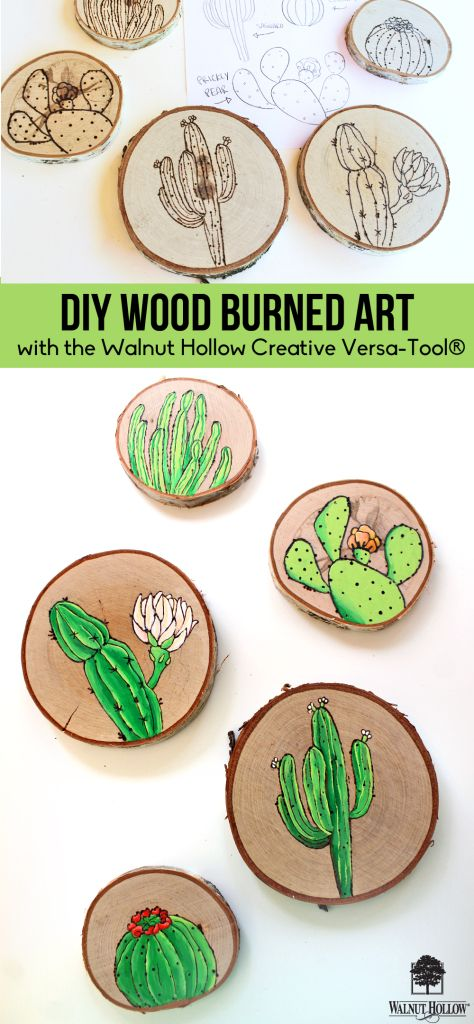 Photo of Wood Burning Illustrations with the Creative Versa Tool