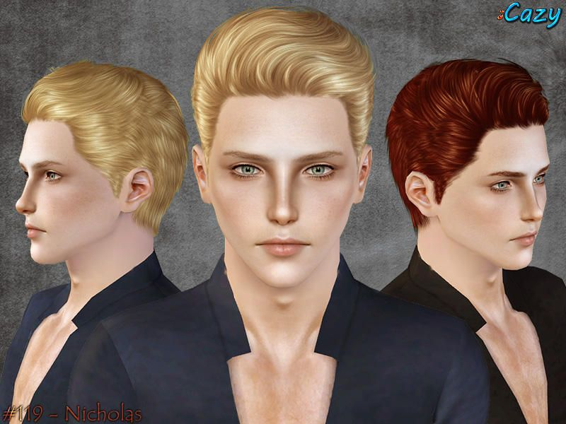 how to make style hair cazy s nicholas hairstyle sims 3 downloads 4671 | ecb8bbc26ae5a3b37eb397bd4671ee04