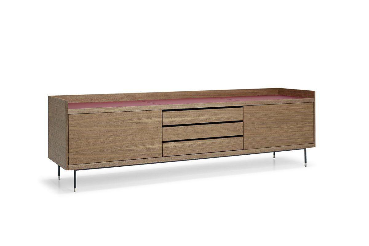 Credenza Da Design : PrivÈ madia bassa design christophe pillet famiglia di mobili
