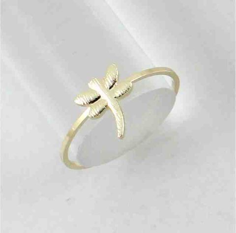 Gold,Coloured,Dragonfly,Ring