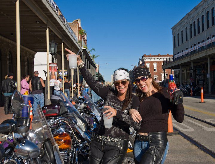 Each Fall The Lone Star Motorcycle Rally Rumbles Back To The