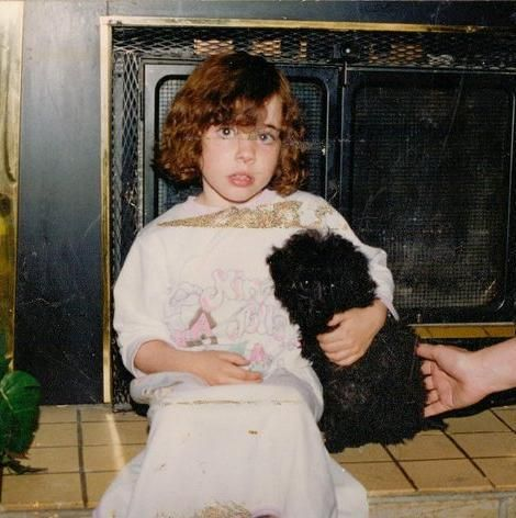 Remembering my best friend today a toy poodle who lived to be 16 years old.