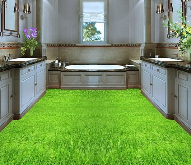 3D Bathroom Floor - Bathroom