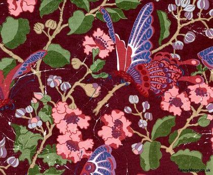 fabric - fancymoon.co.uk - fairlyte butterfuly carnival - melissa white