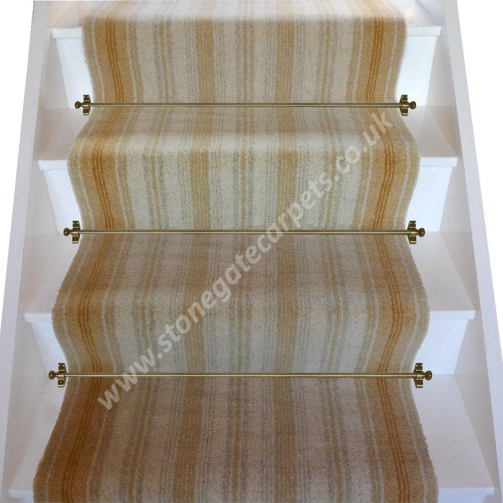 Best Brintons Carpets Kenilworth Gold Stair Runner Carpet 400 x 300