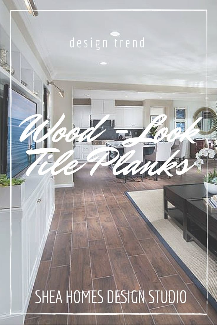 Design Trends: Wood-Look Tile Planks!