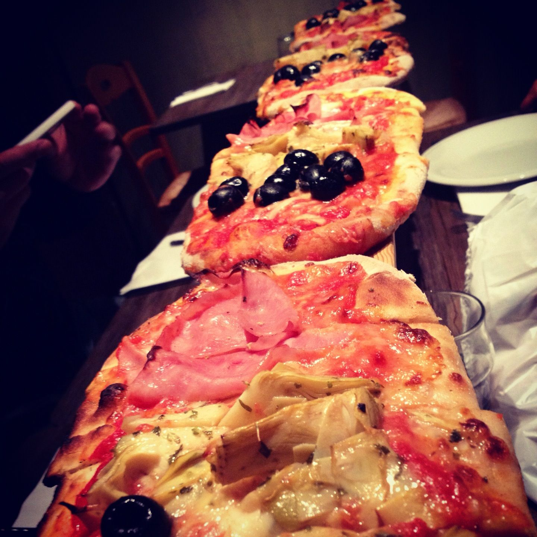 Pizza Metro.. Venice.. Taste it...