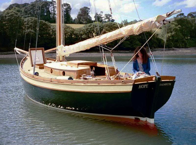 Hope 28' | Pocket cruiser | Pinterest | Boating, Wooden boats and Sail boats