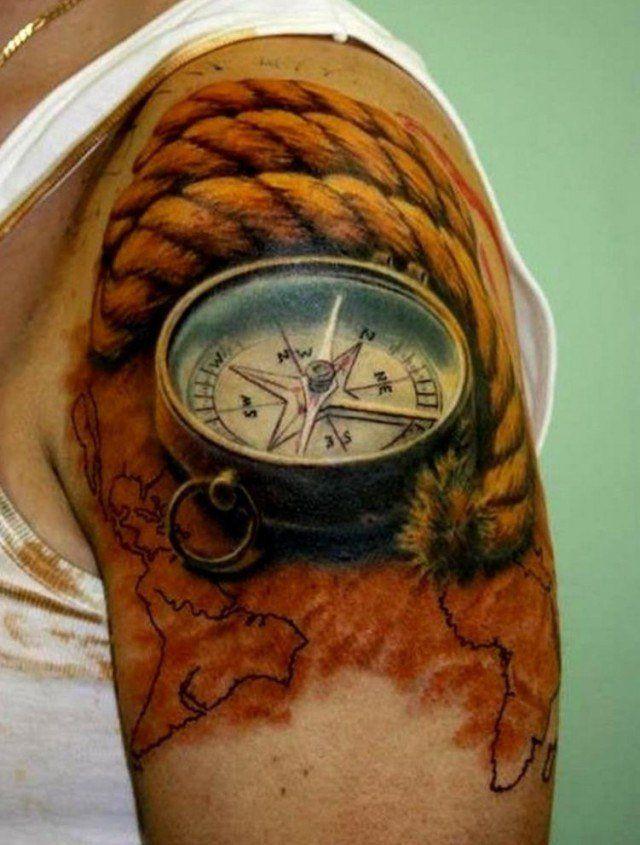 tatouage homme- 50 des meilleurs designs de 2014 et 2015 | clock