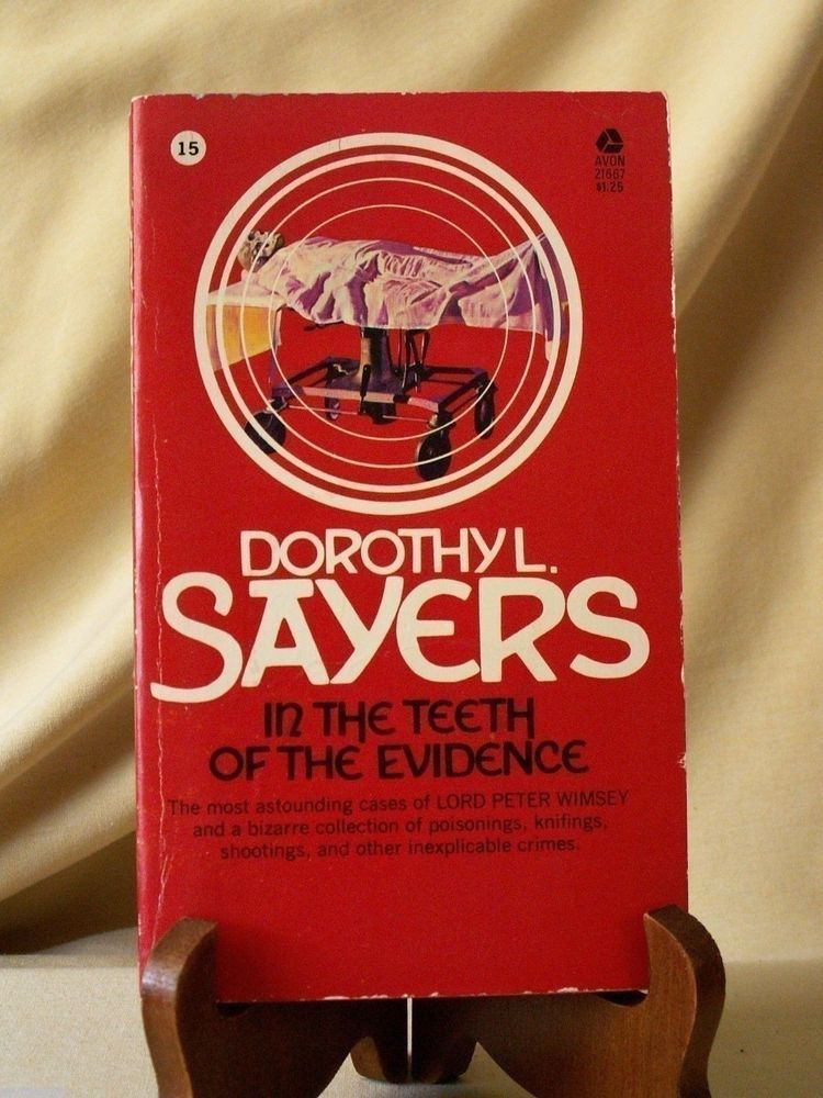 In the teeth of evidence by dorothy sayers 6th print sept