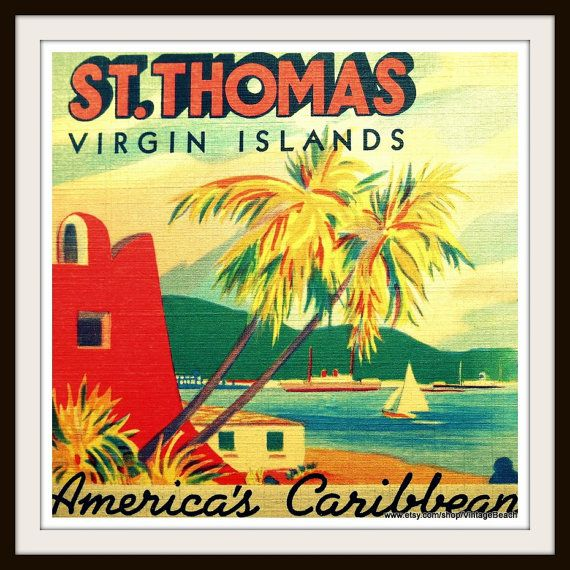 virgin islands photograph st thomas