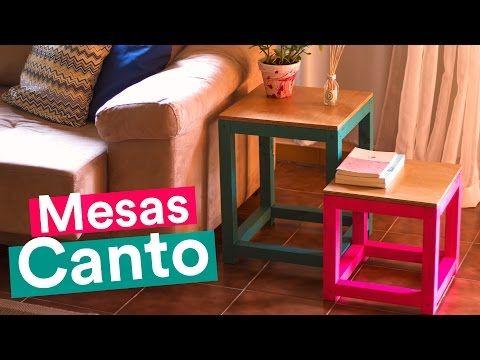 DIY - MESAS DE CANTO POP - YouTube