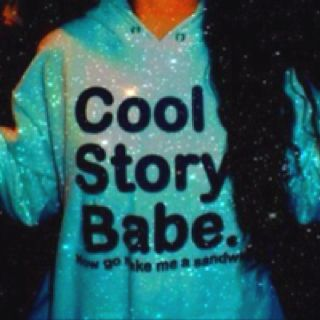 "I want this. ""cool story babe. now go make me a sandwich."" lol"