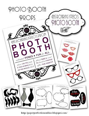 Photo of Paper Perfection: 1920 Prom Invitation and Party Printables – Casino theme – #A …