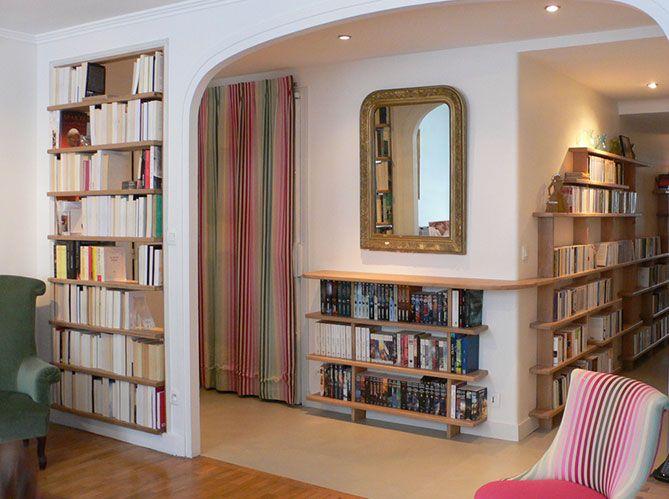 estanterias libros recibidor y pasillo  Decoracin zonas