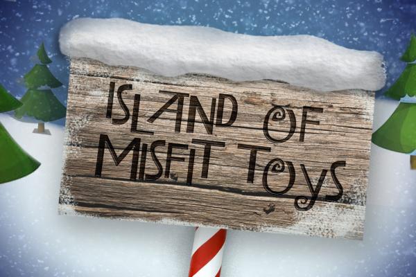 Island Of Misfit Toys Sign Island Of Misfit Toys