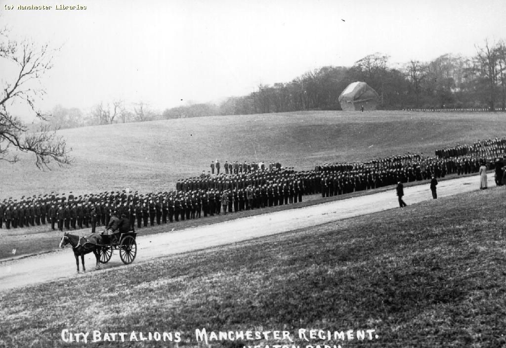 Manchester Regiment Inspection in Heaton Park