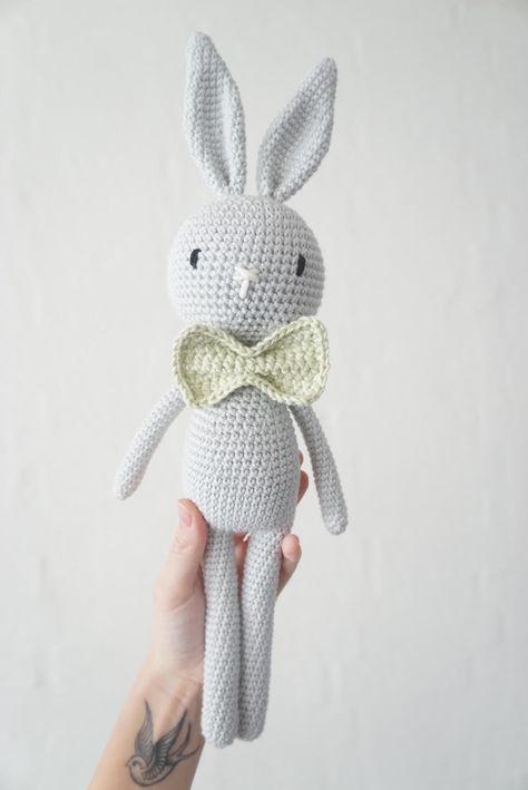 Edith og Albert kanin | Pinterest | Patrones amigurumi, Osos y Patrones