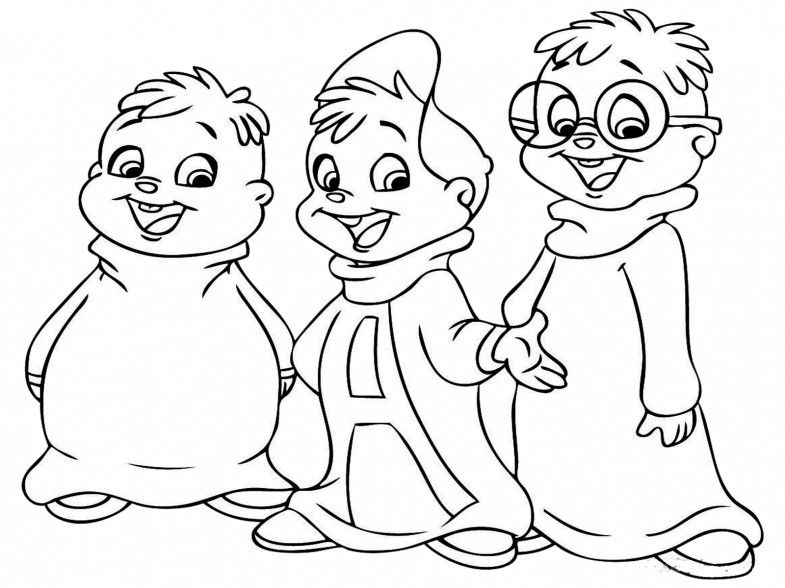 Alvin and the chipmunks http bestwallpaperhd com alvin and preschool coloring pagescoloring