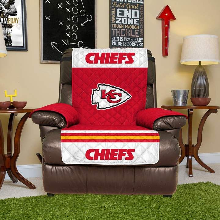 Chair Covers Kansas City Purple Kids Desk Chiefs Quilted Recliner Cover Products