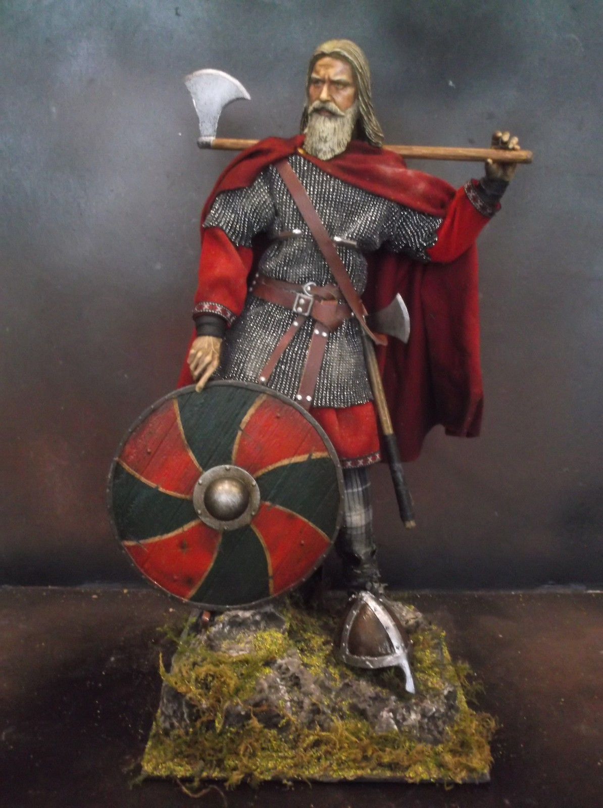 1//6 Scale Viking Shield V2