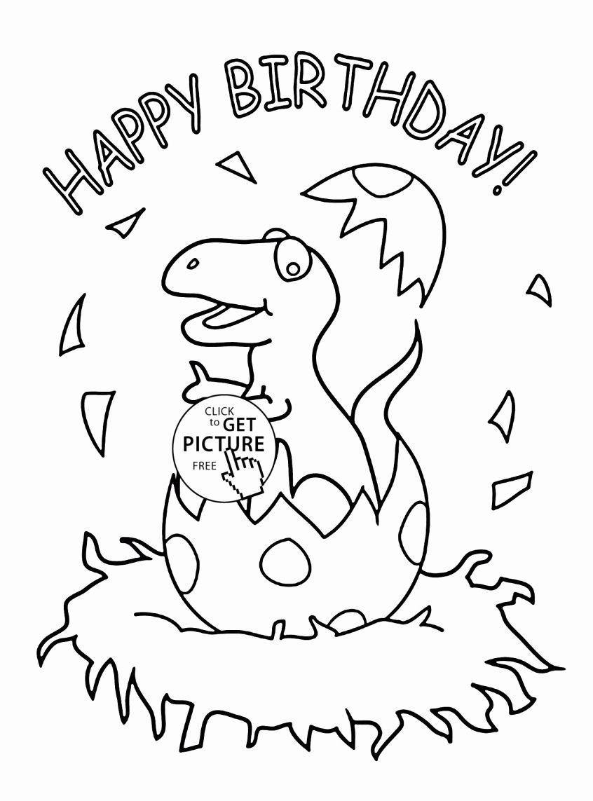 Dinosaur Free Coloring Pages Unique Coloring Little ...
