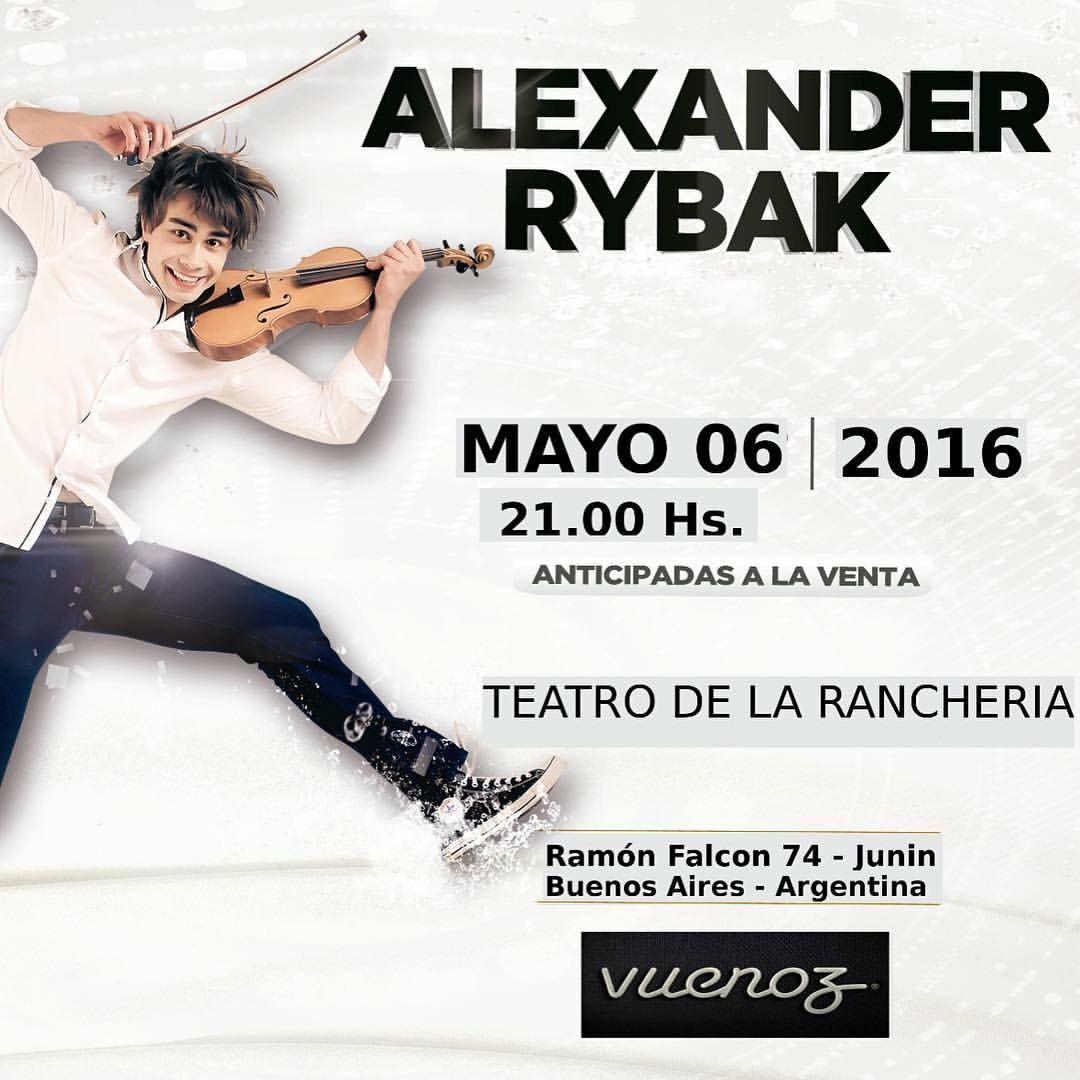 Aleksandr Rybak Buenos Aires Argentina Teatro Y Buenos Aires