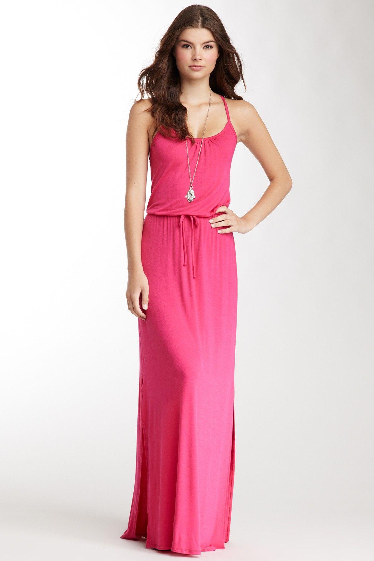 Drawstring Maxi Dress | Vestidos | Pinterest | Vestido de verano ...