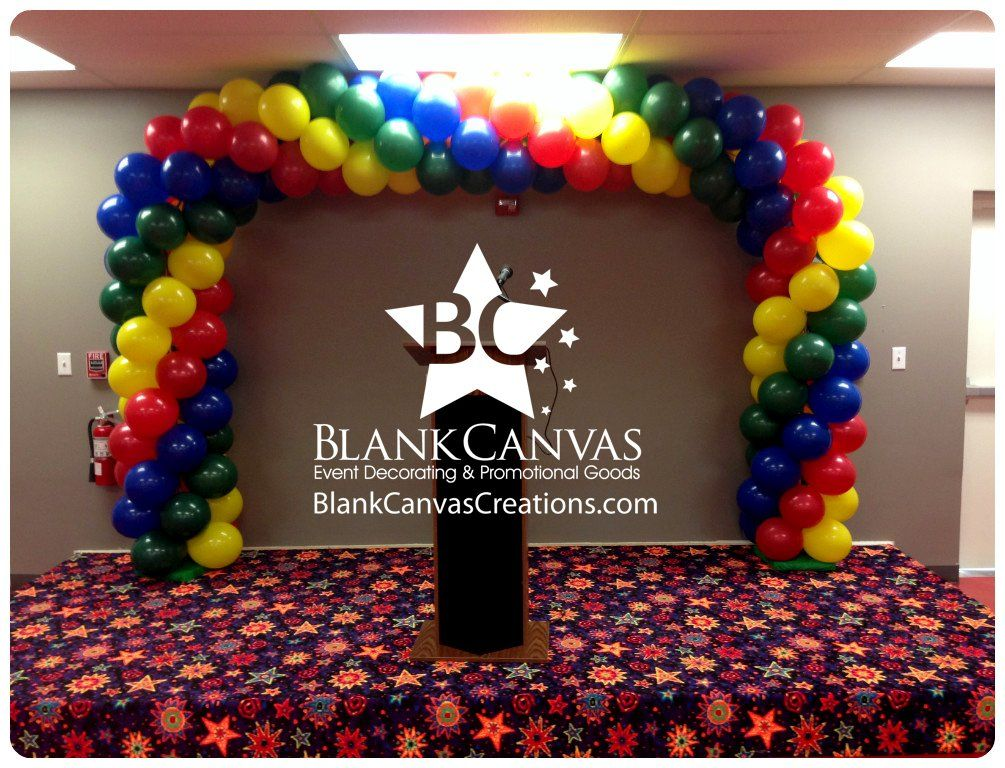 Melbourne Fl Event Decorating Blog Square Balloon Arch For The