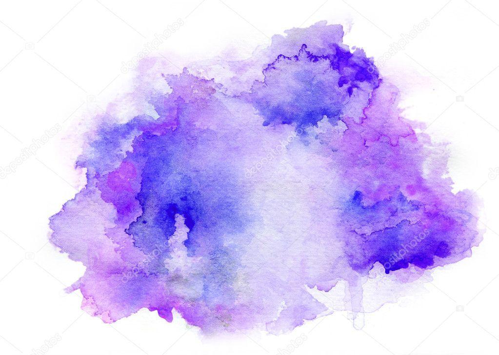 Purple Watercolor Drawing Ink Stock Photo Sponsored Drawing Watercolor Purple Photo Ad Fondos Acuarela Papel Tapiz De Acuarela Acuarela