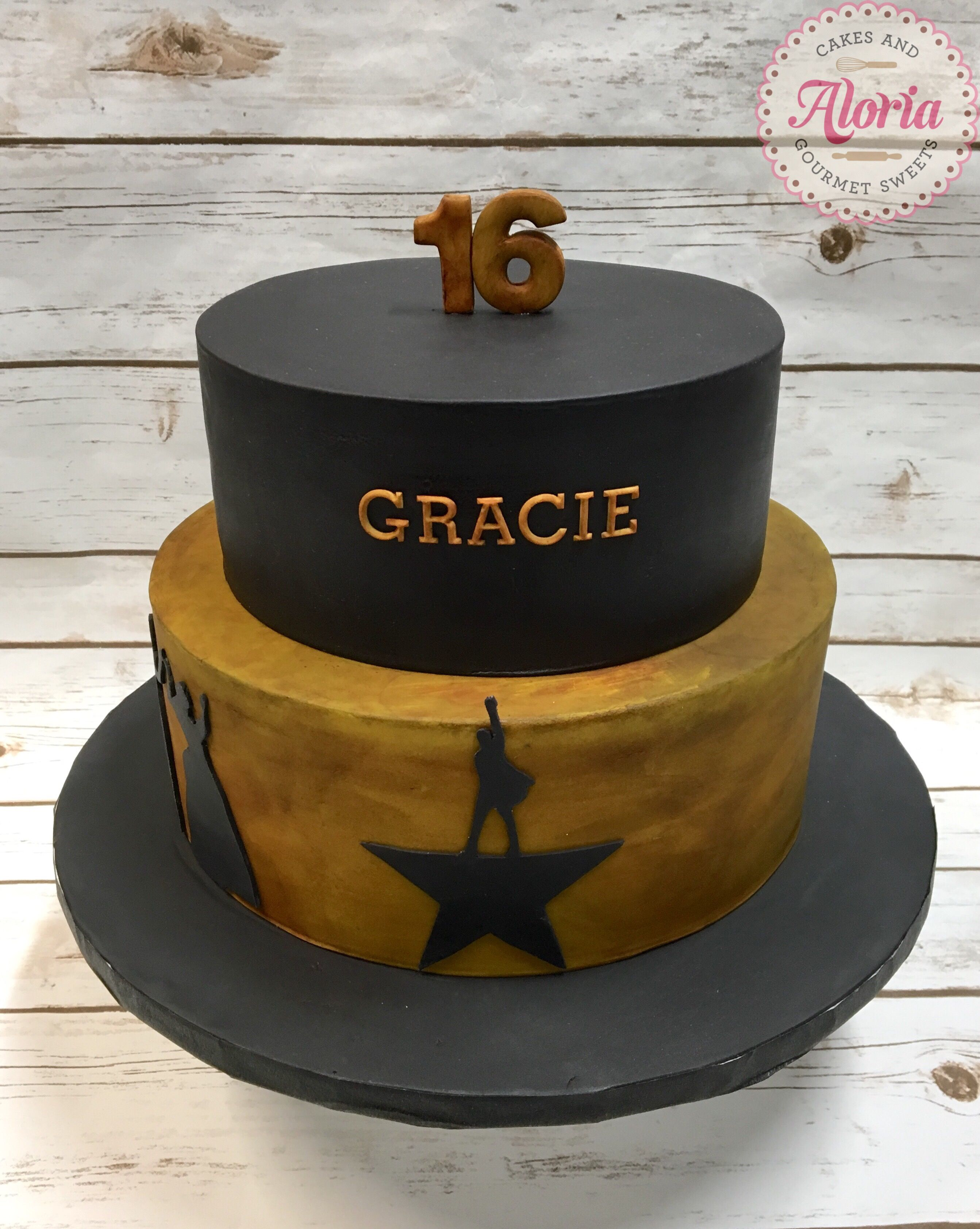 Hamilton themed cake Hamilton birthday cake Hamilton the Musical