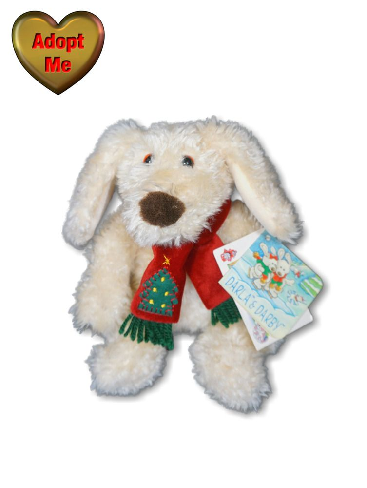 Plush Puppies Singing Dog Toy Jingle Bells Christmas Dog Toy