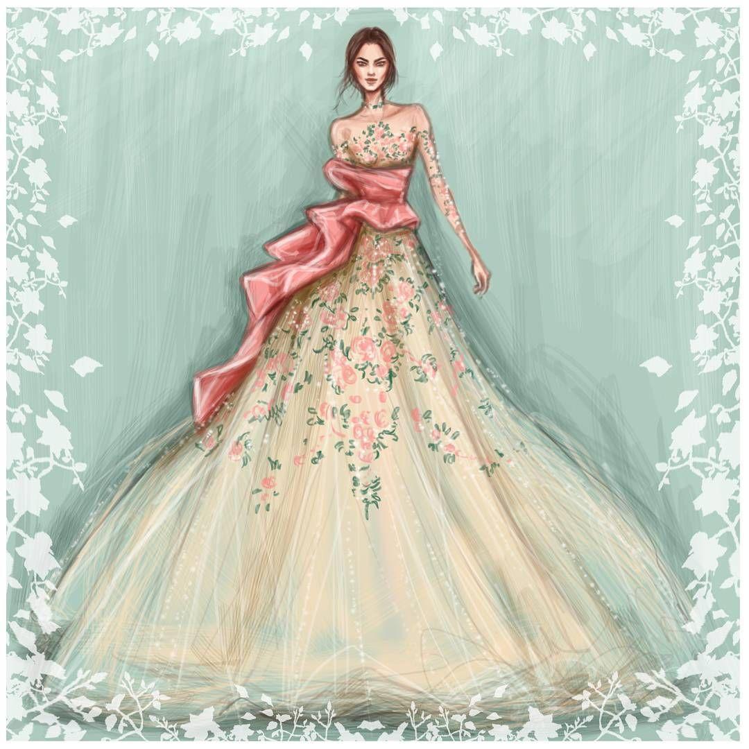 marchesafashion FW2016 #NYFW» Fashion art, sketches, design, style ...