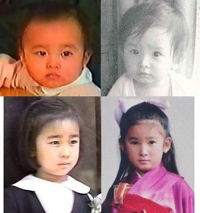 佳子さまは小さい頃から紀子さまによく似てますね。