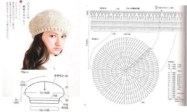 Etoles et bonnets au crochet : modèles et grilles à imprimer !