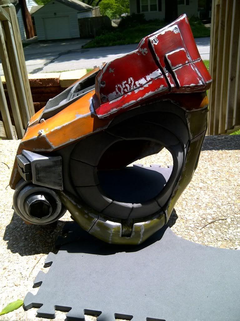 Halo Reach Jorge Helmet foam - Google keresés | Foam armor ...