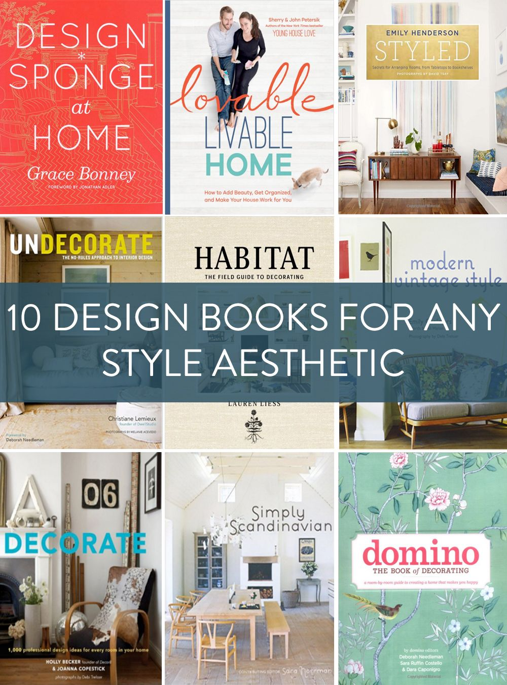Shopping Guide: 10 Must Have Design Books for Every Taste and Style ...