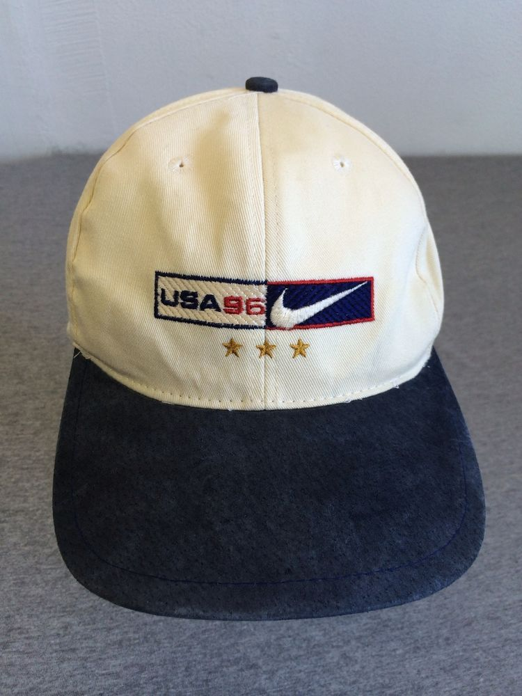 e0a8807bd NIKE USA Hat 1996 Vintage Adjustable RARE! #NIKE #BaseballCap | Hats ...
