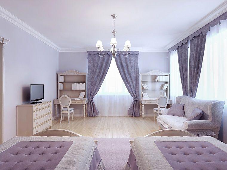 tende-da-camera-da-letto-lilla   Tende da camera da letto   Pinterest