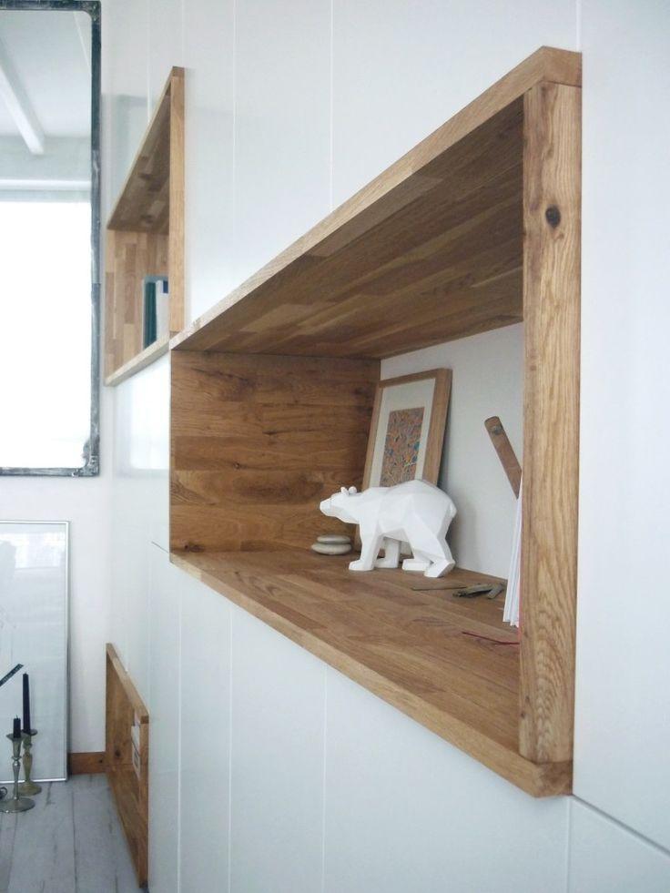 r sultat de recherche d 39 images pour meuble encastr bois dans mur sala sandra. Black Bedroom Furniture Sets. Home Design Ideas