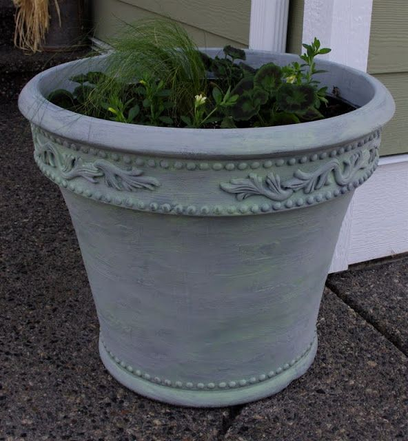 We Bought A Couple Of Large Plastic Planters A Few Years Back At Costco. We  Bought Them Because They Were A Really Good Price For The .