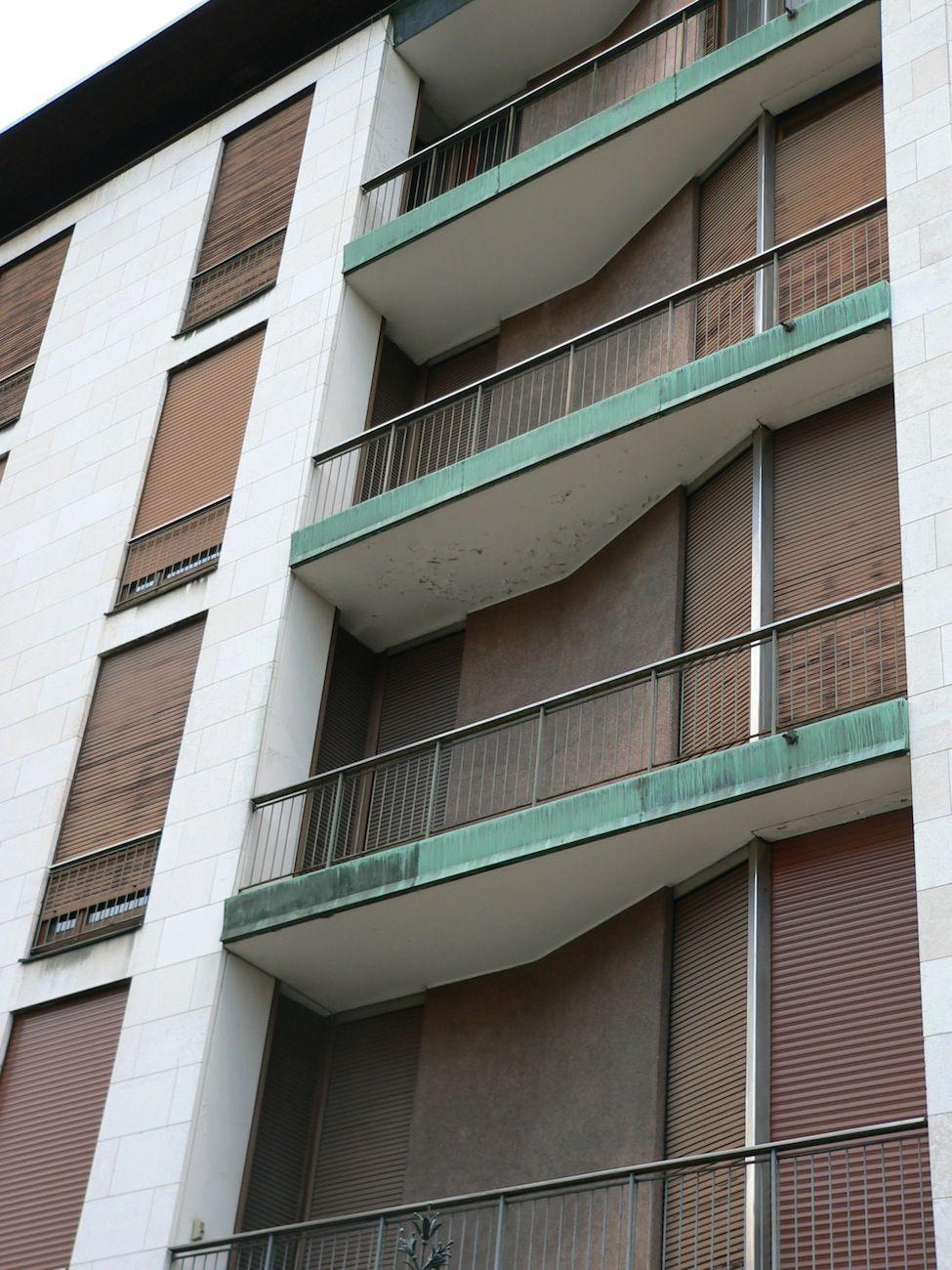 Ignazio gardella casa al parco google suche place for Casa borsalino gardella
