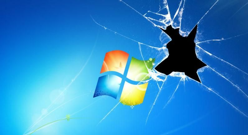 Goodbye Old Friend Microsoft To End Support For Windows 7 In One Year Computer Wallpaper Desktop Wallpapers Windows Wallpaper Broken Screen Wallpaper