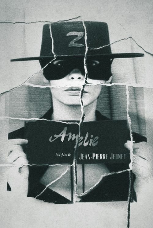 Amelie Zorro Movie Posters Amelie Film Books