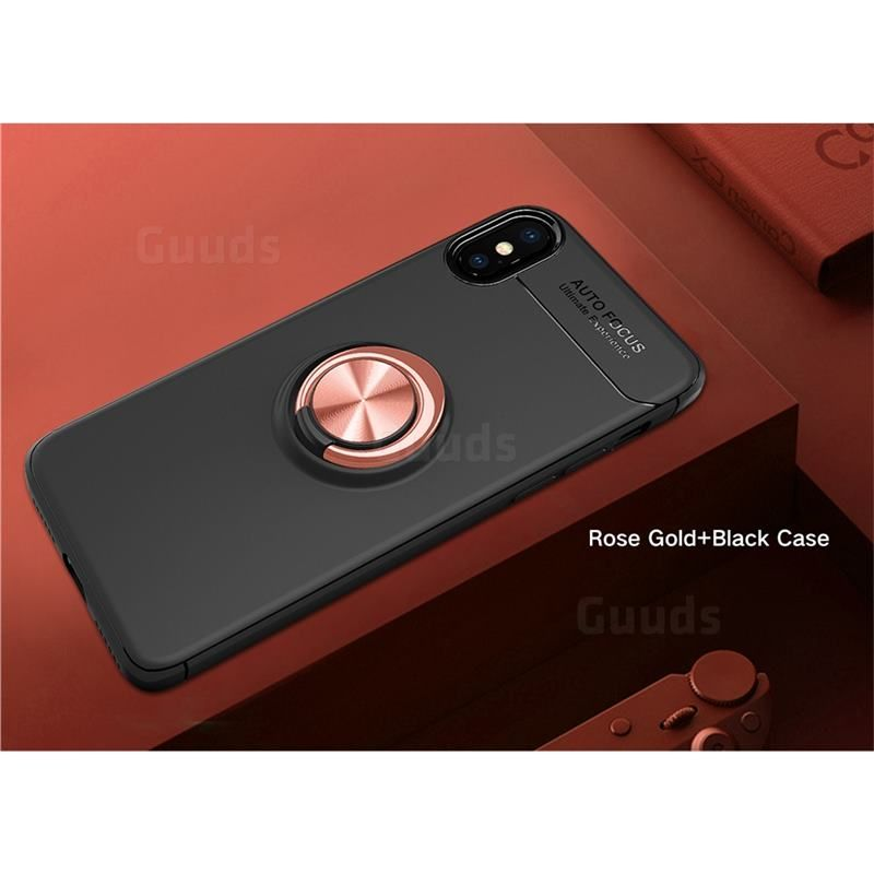 Auto focus invisible ring holder soft phone case for